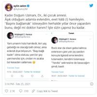 Müzisyen Aylin Aslım'ın Twitterdan Tartıştığı Doktordan Açıklama @Mujdegulkaraca @AylinAsLIM
